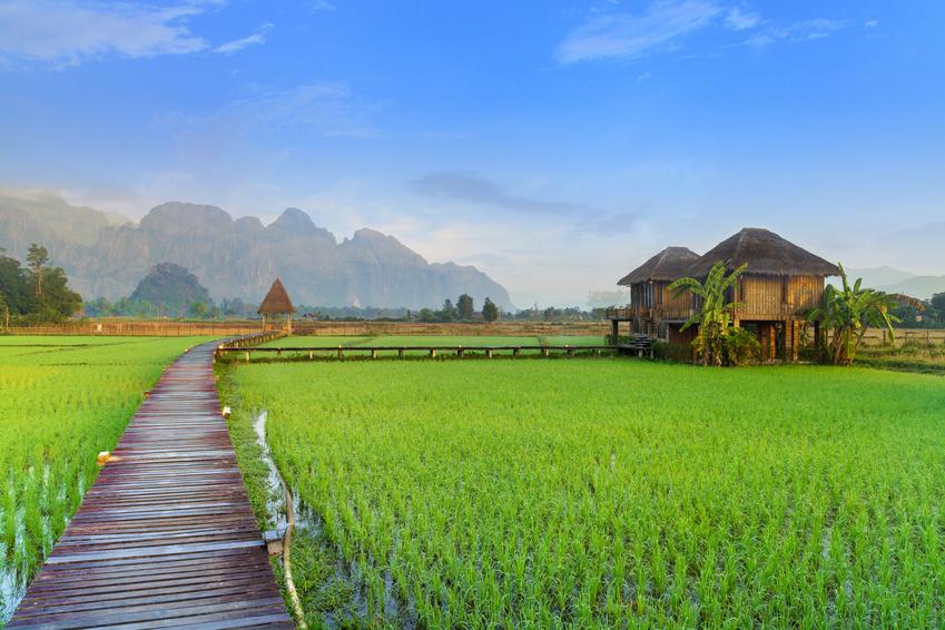 Norte de Tailandia y Laos