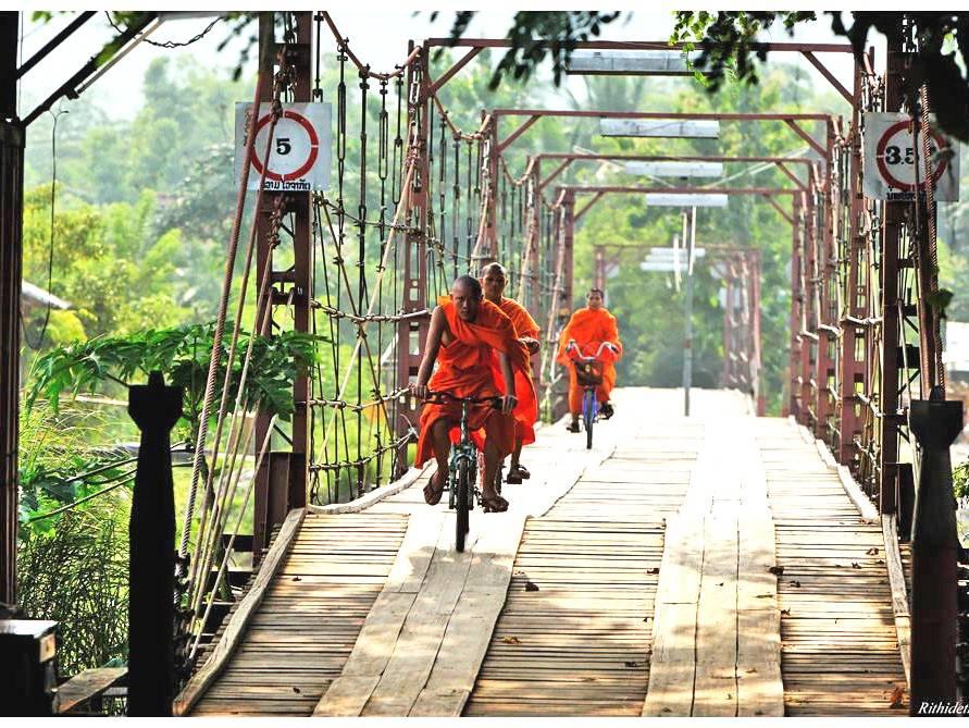 Laos de Norte a Sur