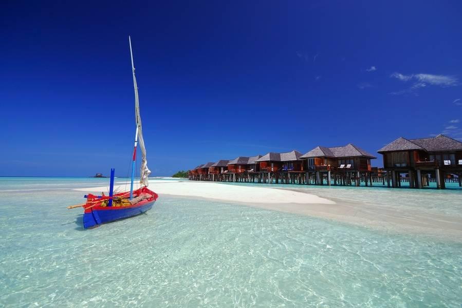 Maldivas en el hotel Olhuveli Beach & Spa 4*, en Pensión completa